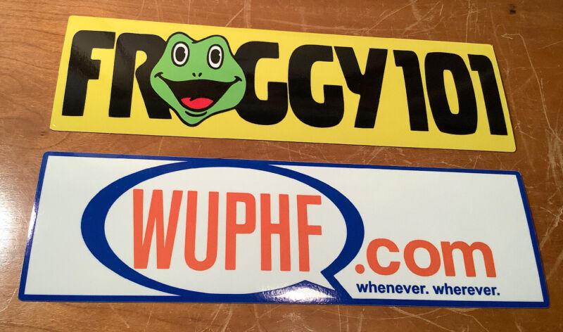 FROGGY 101 & WUPHF Sticker The Office Show Michael Scott Dwight Ryan Radio🐸Gift
