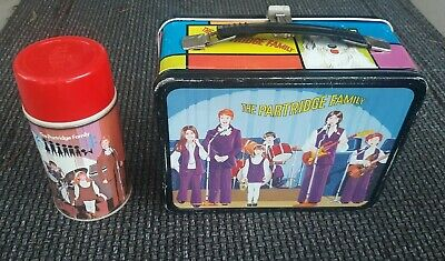 Excellent Vintage 1971 King Seeley Partridge Family Lunchbox and Thermos