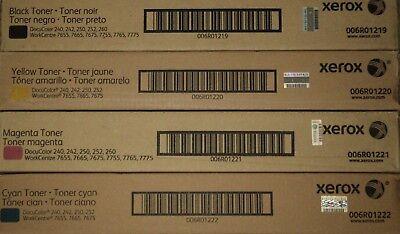 Xerox Docucolor 240242250252260 Toner Cymk