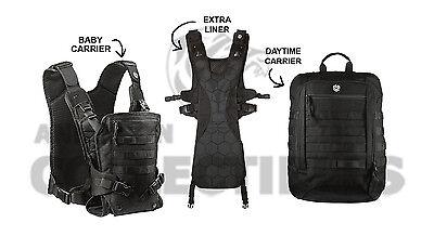 Mission Critical Front Baby Carrier   Daypack Carrier   Ext  Liner Bundle Black