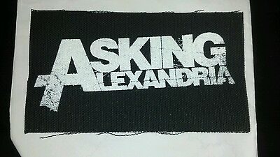 Asking Alexandria Sew On Patch  Metalcore  Includes Free Cd And Shipping