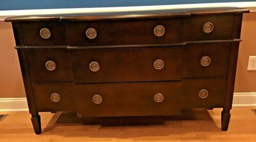 Baker Furniture French Regency Maple Triple Dresser or Credenza