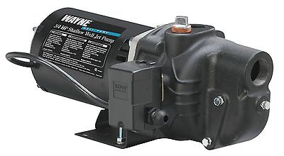 NEW WAYNE SWS75 3/4 HP SHALLOW WELL JET PUMP  NEW IN BOX SALE 6910095