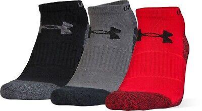 Under Armour UA Elevated No Show Performance socks - Size Medium - 3 Pairs!