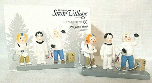 Department 56 Snow Village Accessory  One Giant Step!  # 6003147