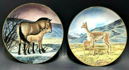 Last of their kind The Endangered Species by Will Nelson Collector China Plates