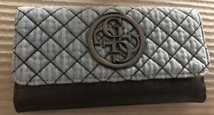 GUESS QUATTRO G DENIM WALLET