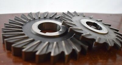 Milling Cutter Slitting Saw Lot Niagara 5 X 12 Brown And Sharpe Hss D 4 X 14