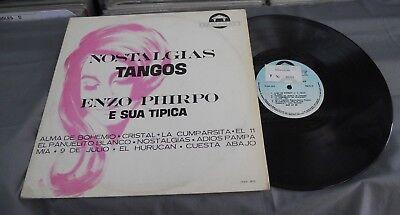 Enzo Phirpo E A Sua Tipica  Nostalgias  Brazilian Lp Tango