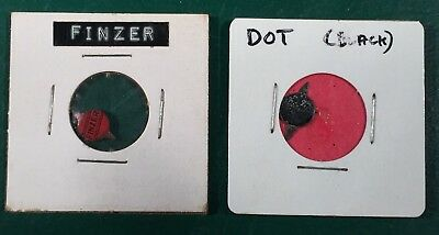Vintage Finzer and Dot Tobacco Tags