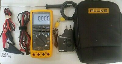 Used Fluke 789 Process Meter With Accessories Tp 239647 239648