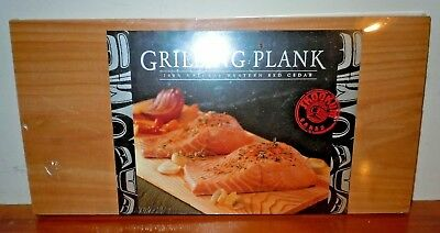Barbeque Grill Plank Natural Western Red Cedar Fish Chicken Pork Chops