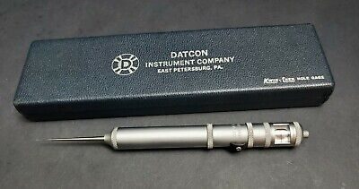 Datcon Usa 0.020 To .130 Kwik-chek Internal Micrometer Bore Gage Machinist