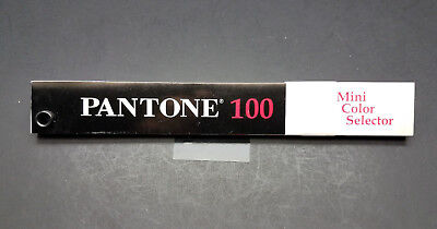 Pantone 100 Mini Color Selector Ctd. Unctd.