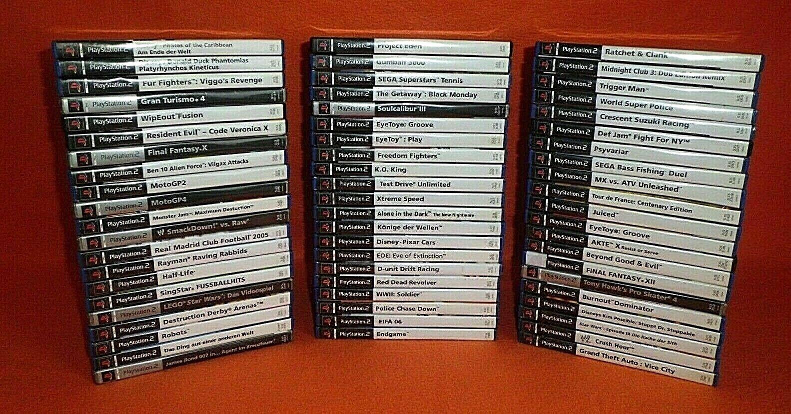 Schöne Spiele für Playstation 2 / Ps2