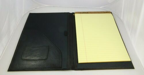 David King 600 Pad Cover Legal Pad Lap-Band System Genuine Leather