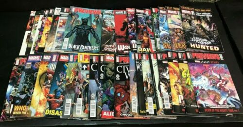 30 Issues of Marvel Previews Catalogs from 2016-2020 Lot!! Bulk Set GD-FN