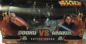 Star Wars revenge of the Sith battle arena 2005 x 3