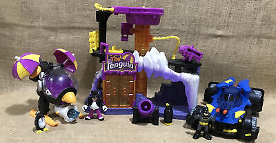 Imaginext The Penguin Lair Headquarters Batman Figures