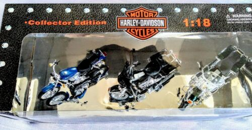 Maisto Harley Davidson Motorcycles Collector Edition Series 6 1:18 Scale NIB