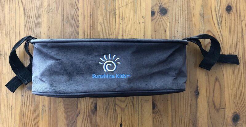 Stroller Handlebar Caddy / Console -  Cup Drink Holder Storage - Sunshine Kids