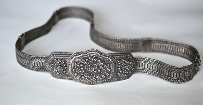 Antique Silver Belt Thailand