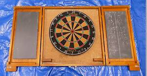 Dart board and case Frenchs Forest Warringah Area Preview