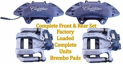 Cadillac ATS CT6 Brembo Front & Rear Set Brake Calipers Factory Pin Kit & Pads