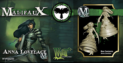 Malifaux Second Edition Anna Lovelace