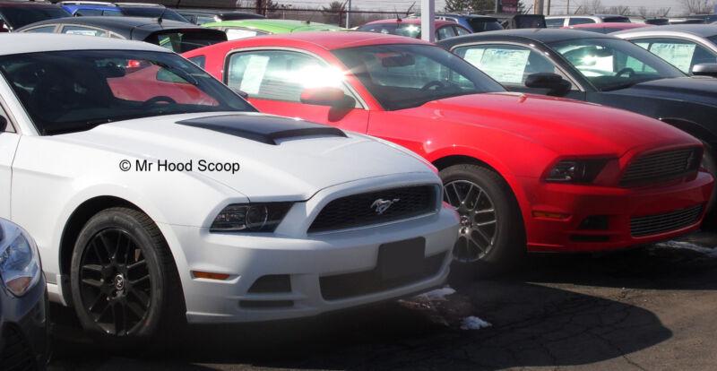 Hood Scoop for Ford Mustang GT V6 By MrHoodScoop UNPAINTED HS009