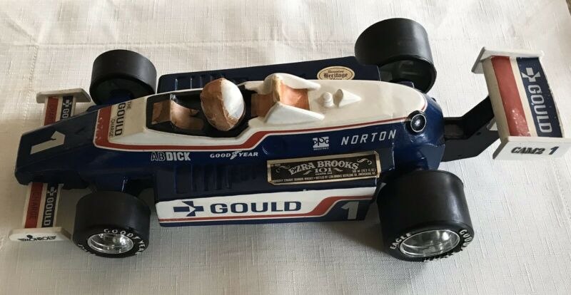 Ezra Brooks Gould Charge #1 Indy Car  Limited Edition Collector
