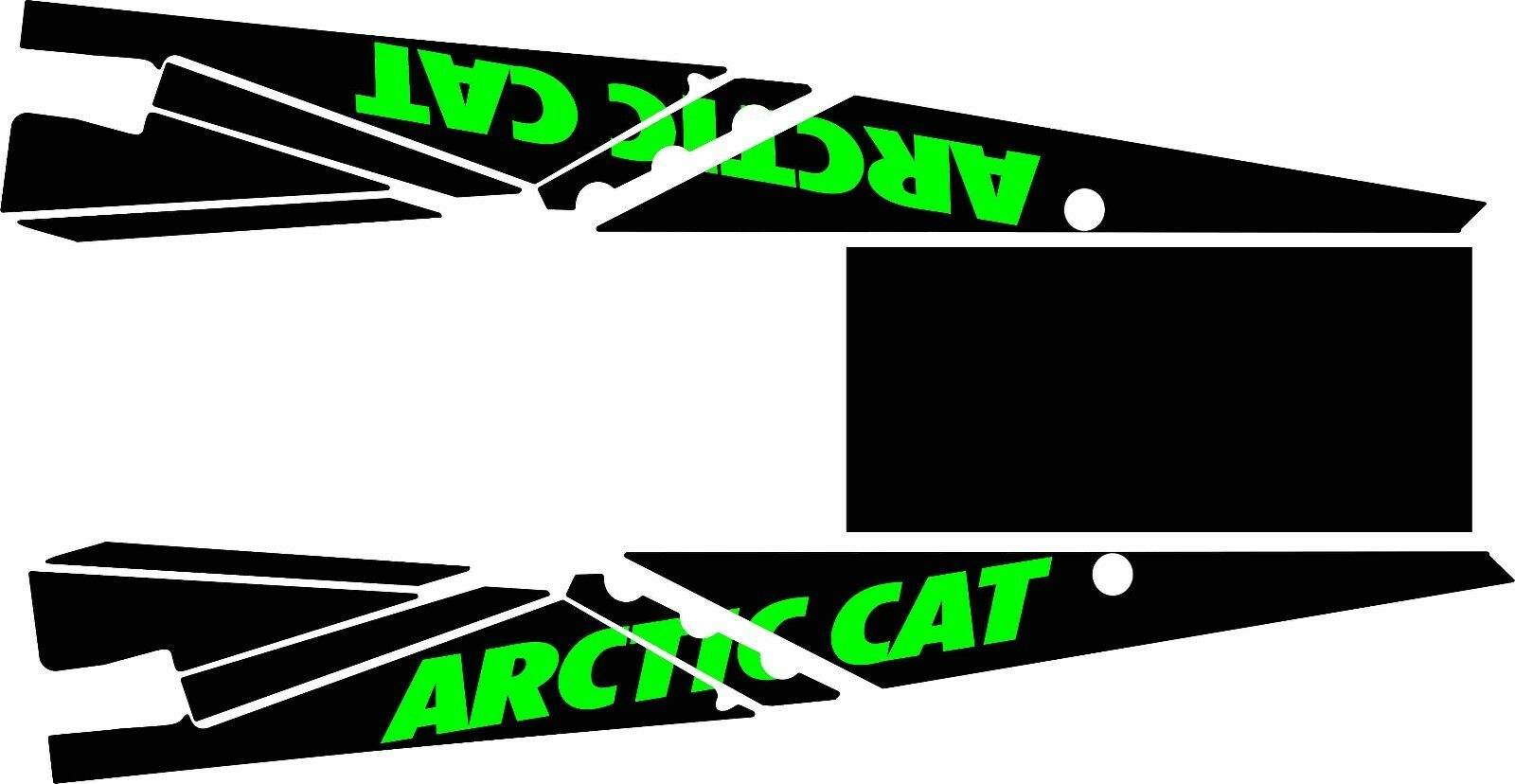 ARCTIC CAT TUNNEL top GRAPHICS WRAP SNO PRO CLIMB CROSS M 800 1100 TURBO DECAL t
