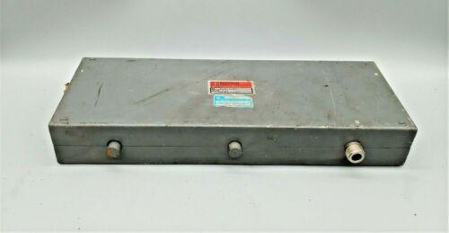 DECIBEL PRODUCTS  450-475  ISOLATOR  MICROWAVE ASSOCIATES  J-2101-S