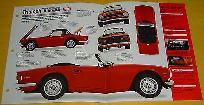 1969 Triumph TR6 Convertible 2498cc 6 Cylinder IMP Info/Specs/photo 15x9