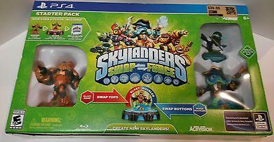 Skylanders Swap Force Starter Pack Sony PlayStation 4 Brand New (Force Starter)