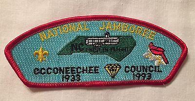 Occoneechee Council JSP 1993  patch National Jamboree Mint CC5