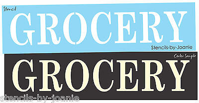 Art Craft Store (Joanie Country Stencil Grocery Kitchen Art Shop Store Craft U Paint Prim)