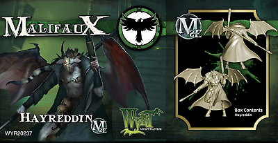 Malifaux Second Edition Hayreddin