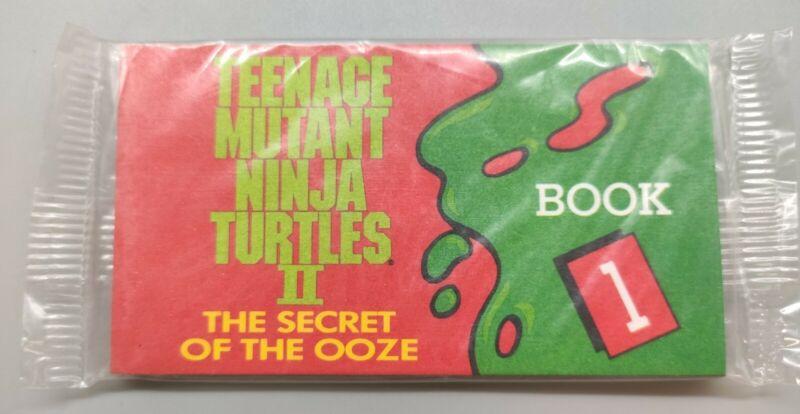 TMNT Teenage Mutant Ninja Turtle FLIP BOOK/Flipbook 1~The Secret of the Ooze