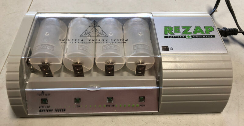 Digital Works ReZap Battery Engineer Recharger