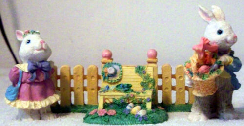 Easter Jubilee 4 Piece Easter Bunny Family - Decorate Your Home!