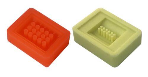 2 Kits-4mm 15 Core & 2mm 12 Core Arraymold Tissue Microarray Pathology Histology