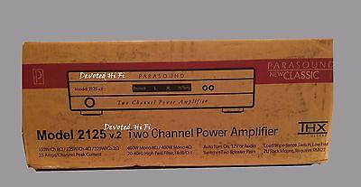 Parasound Model 2125 V2 Channel Amplifier