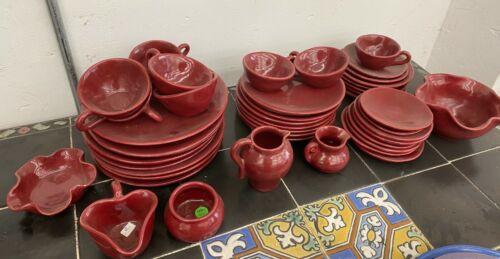 Brayton Laguna Pottery 45 piece set Vintage California