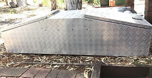 Rhino 1760 x 520 x 480mm Raked Gull Wing Checkerplate Tool Box Storage Darlington Mundaring Area Preview