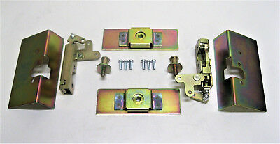 - Small Locking Cat Jaw Claw Door Latches w/ Installation Kit Bear Type Grip Latch
