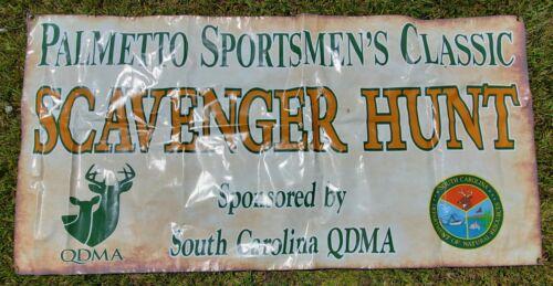 ULTIMATE SC Man Cave Banner DEER HUNTING Garage Workshop Large 6