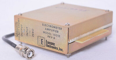 Encore Electronics Electrometer Amplifier 1001e