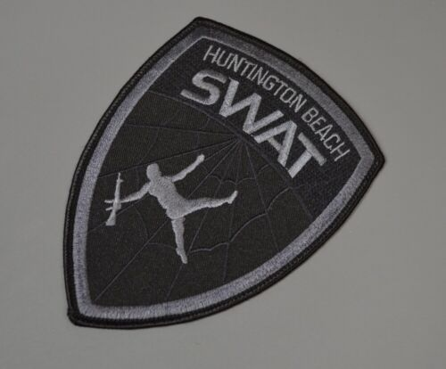 Huntington Beach California Police SWAT Subdued Patch ++ Mint OC CA HTF