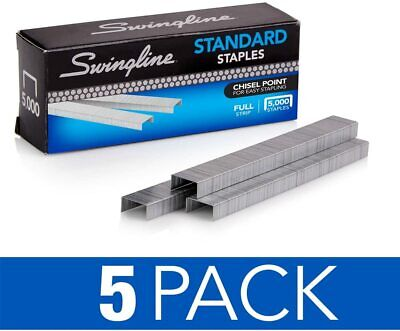 Swingline Staples Standard 14 Inches Length 210strip 5000box 5 Pack 35101